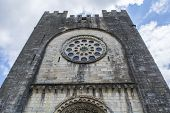 Main Facade Of The San Juan Church, Portomarin