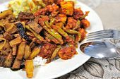 Spicy Malay Set Meal poster