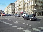 Intersection Of Bellariastrasse And Museumsplatz Streets