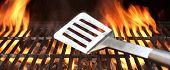 Spatula On The Barbecue Grill