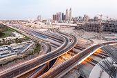 View Over The Dubai Internet Cty