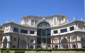 Entrance to The Forum Shops at Caesars Palace Las Vegas Hotel & Casino.