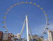 Las Vegas newest attraction The High Roller Ferris Wheel