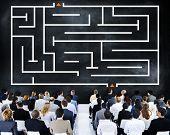 Maze Puzzle Game Concept