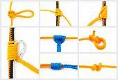 Knoten-collage