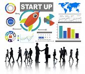 Business Corporate People Start up Partnership Team Concept