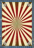 Retro poster patriotic background. A patriotic background with a texture for your publicity