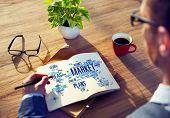 Market Business Global Business Marketing Commerce Concept