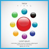 Buttons, vector