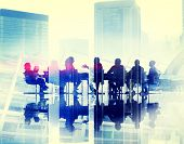 picture of seminars  - Business People Meeting Conference Seminar Sharing Strategy Concept - JPG