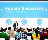 Human Resources Employment Job Recruitment Seminar Conference Concept