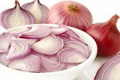 Sliced Shallot Onion
