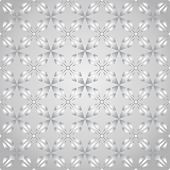 Silver Abstract Rectangle And Arrow And Circle Shape Seamless Pattern