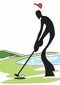 shadow man golf