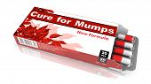 Cure for Mumps- Blister Pack of Pills.