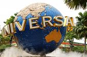 Universal Studios Singapore on Sentosa Island Singapore.