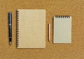 Blank Spiral Binder Notebook