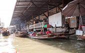 Damnoen Saduak Floating Marke, Thailand
