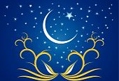 And the crescent of Ramadan evenings.