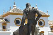La Maestranza Bull Ring In Seville. Andalucia. Spain