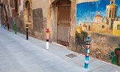 Street View With Graffiti, Tarragona, Spain
