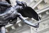 picture of ero  - Statue of Eros in Piccadilly Circus London - JPG