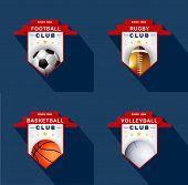 Sports Labels  ,badge,emblem