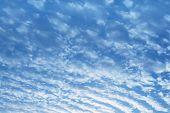 Cloudy beautiful sky
