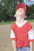 picture of little-league  - A children baseball player don - JPG