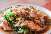 Spicy Sauce Grouper Fish