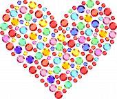 Heart Of Semiprecious Stones