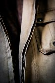 Open Jacket Zipper Pull Detai