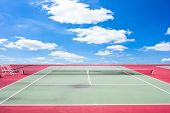 Tennis Court Sport Outdoor