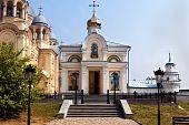 Man's Piously-nikolaev Monastery.verhoturie