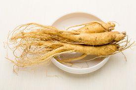 image of ginseng  - Korean cuisine ginseng - JPG