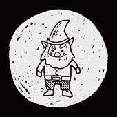 foto of elf  - Elf Doodle - JPG