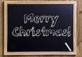 image of merry christmas text  - Merry Christmas - JPG
