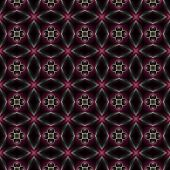 picture of kaleidoscope  - Abstract kaleidoscopic background as infinite seamless pattern - JPG
