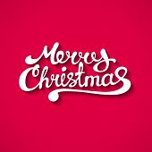 picture of merry christmas text  - Abstract vector Illustration - JPG