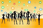 Dancing People -  Illustration