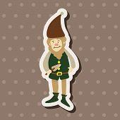 picture of elf  - Elf Theme Elements - JPG