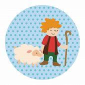 picture of shepherds  - Shepherd Theme Elements - JPG