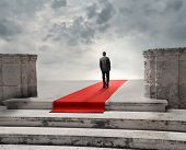picture of stairway to heaven  - Red carpet - JPG