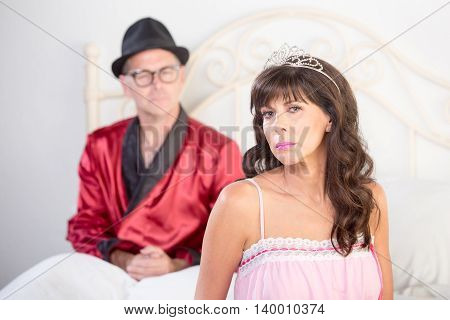 Princess And Playboy Portrait In