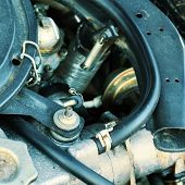 Automobile's vehicle dirty parts