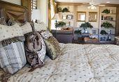 Modern Bedroom And Den Area