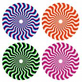 Optical Ornamental Wheels