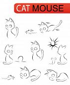 cat and mouse - set