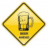 stock photo of beer mug  - beer sign  - JPG