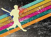 baseball vector poster